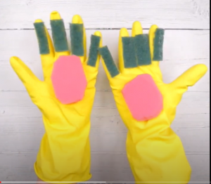 Hard Rubber Gloves